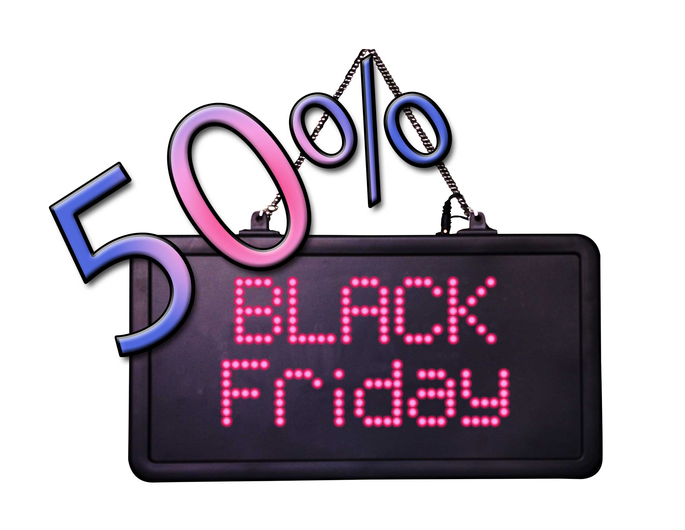 BlackFriday2019 - 50% off
